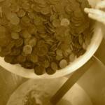 Nous ajoutons le sucre et le cacao du Pérou (fèves broyées et conchées) et nous mélangeons.