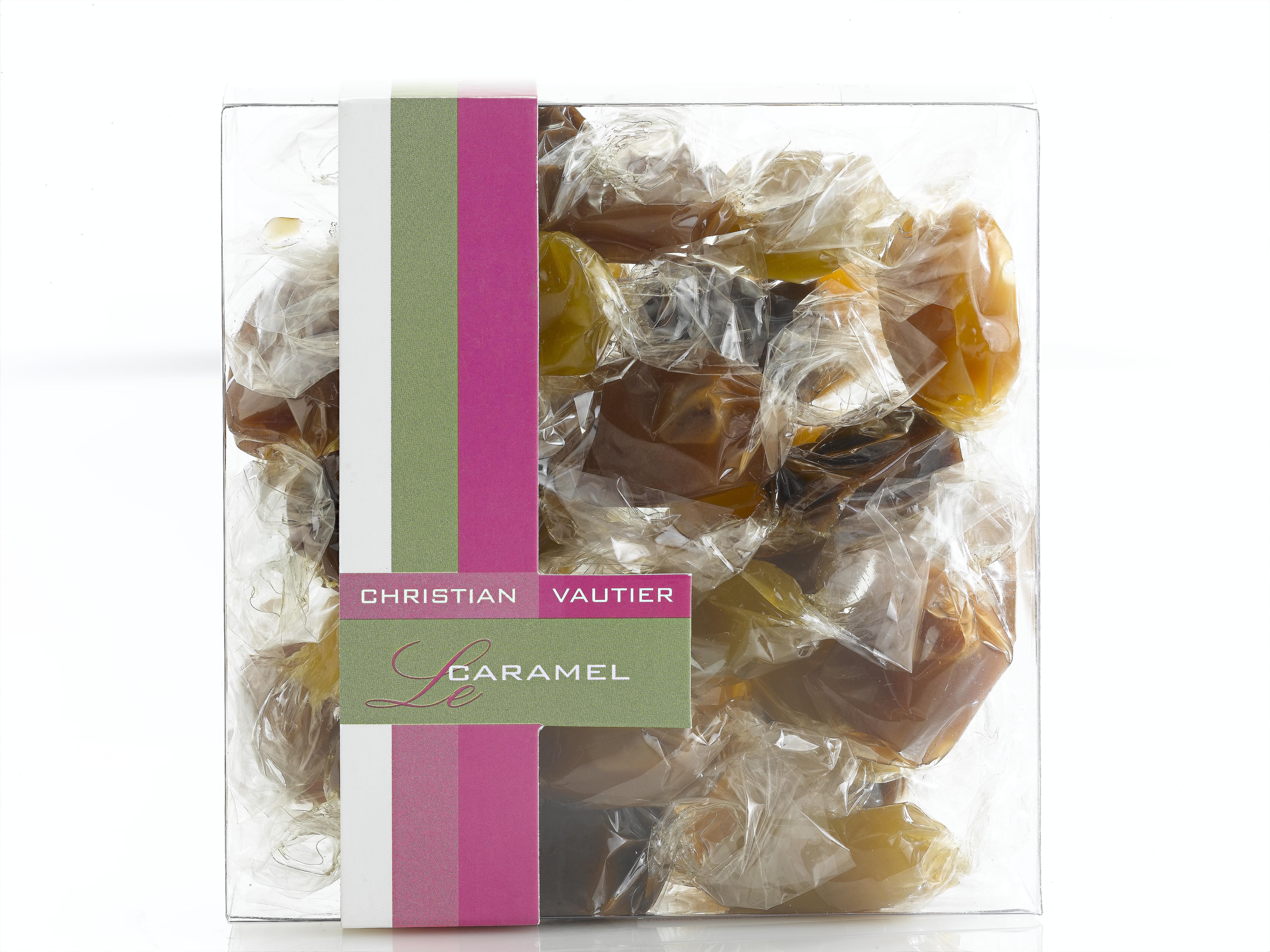Les caramels tendres en papillotes