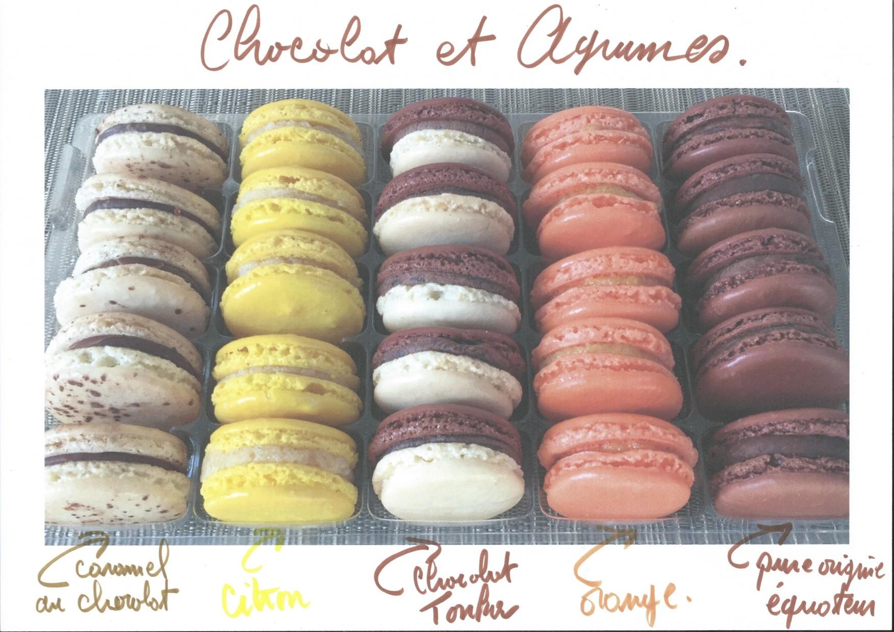Alvéole chocolat et agrumes