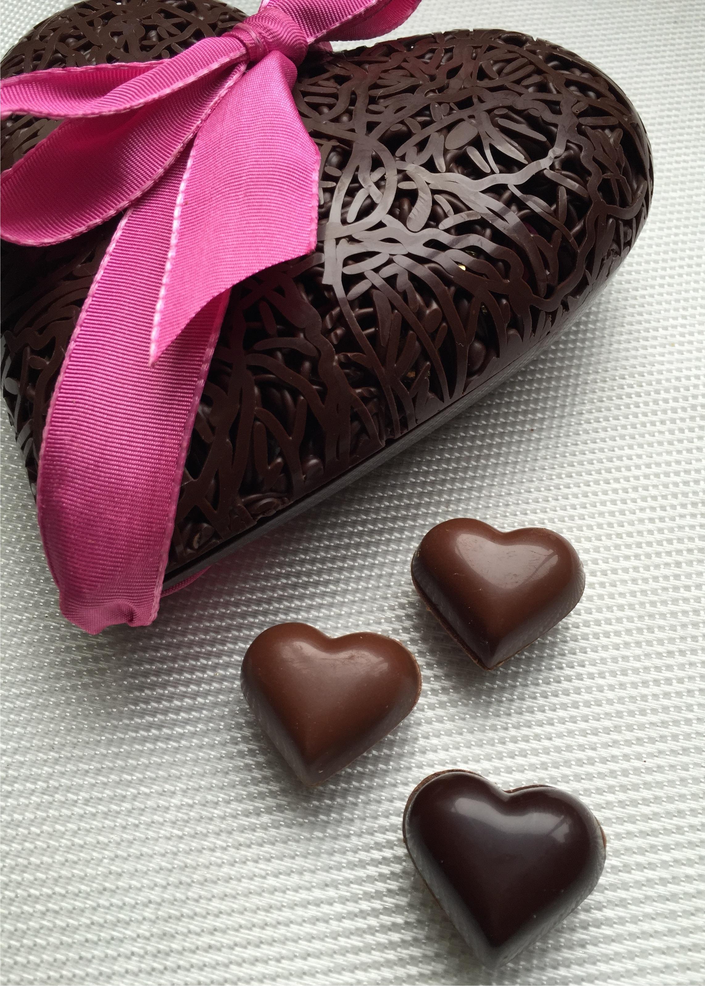Coeurs gourmands pour la Saint-Valentin